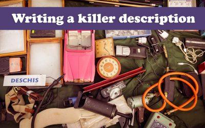 Writing a killer description