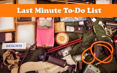 The Last-Minute To-Do List