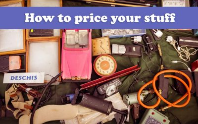 How to price your stuff